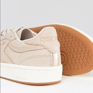 1ef395351c8be6 Reebok Shoes - Reebok Club C Blush   Rose Gold Sneakers